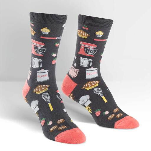 Whisking Business Crew Socks