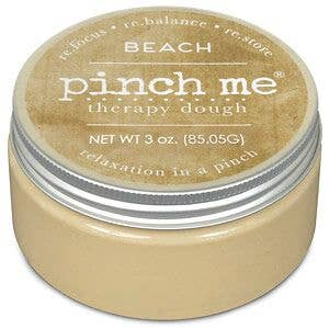 Pinch Me Therapy Dough Beach - Front & Company: Gift Store