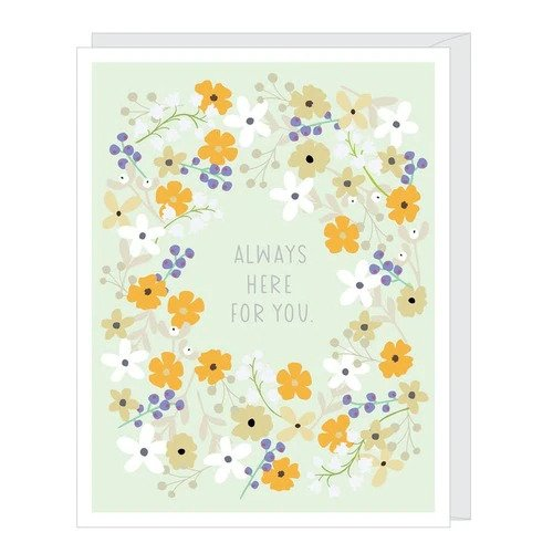 Always Here For You Sympathy Card