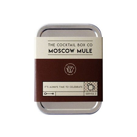 The Cocktail Box Co. Moscow Mule Cocktail Kit - Front & Company: Gift Store