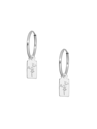 Ferox Endless Hoops - Silver - Front & Company: Gift Store