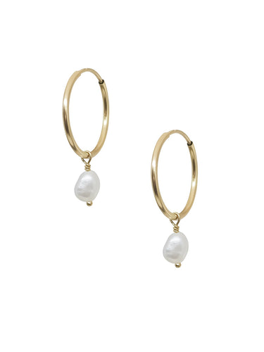 Janis Endless Hoops - Gold Filled - Front & Company: Gift Store