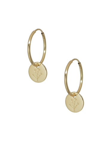 Patti Endless Hoops - Gold Filled - Front & Company: Gift Store