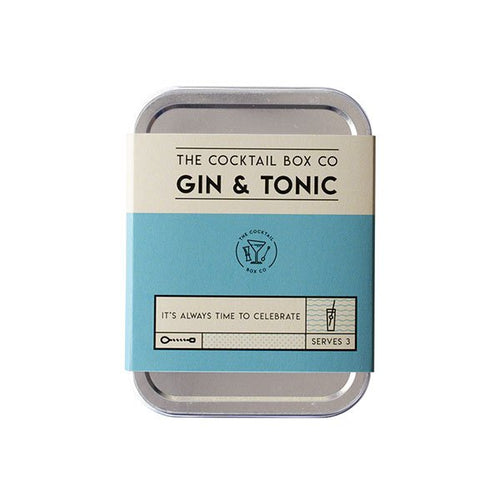 The Cocktail Box Co. Gin & Tonic Cocktail Kit - Front & Company: Gift Store