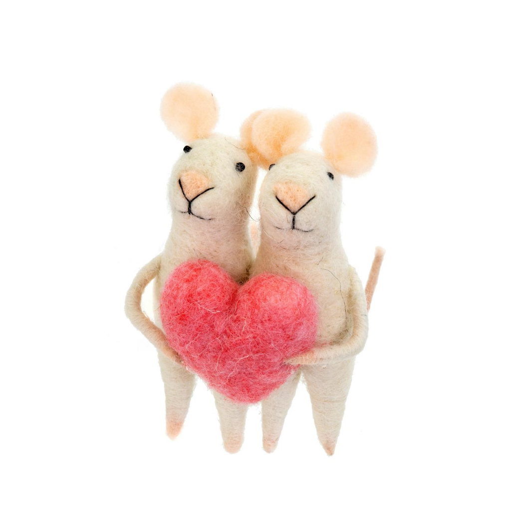 Love You Mice Ornament