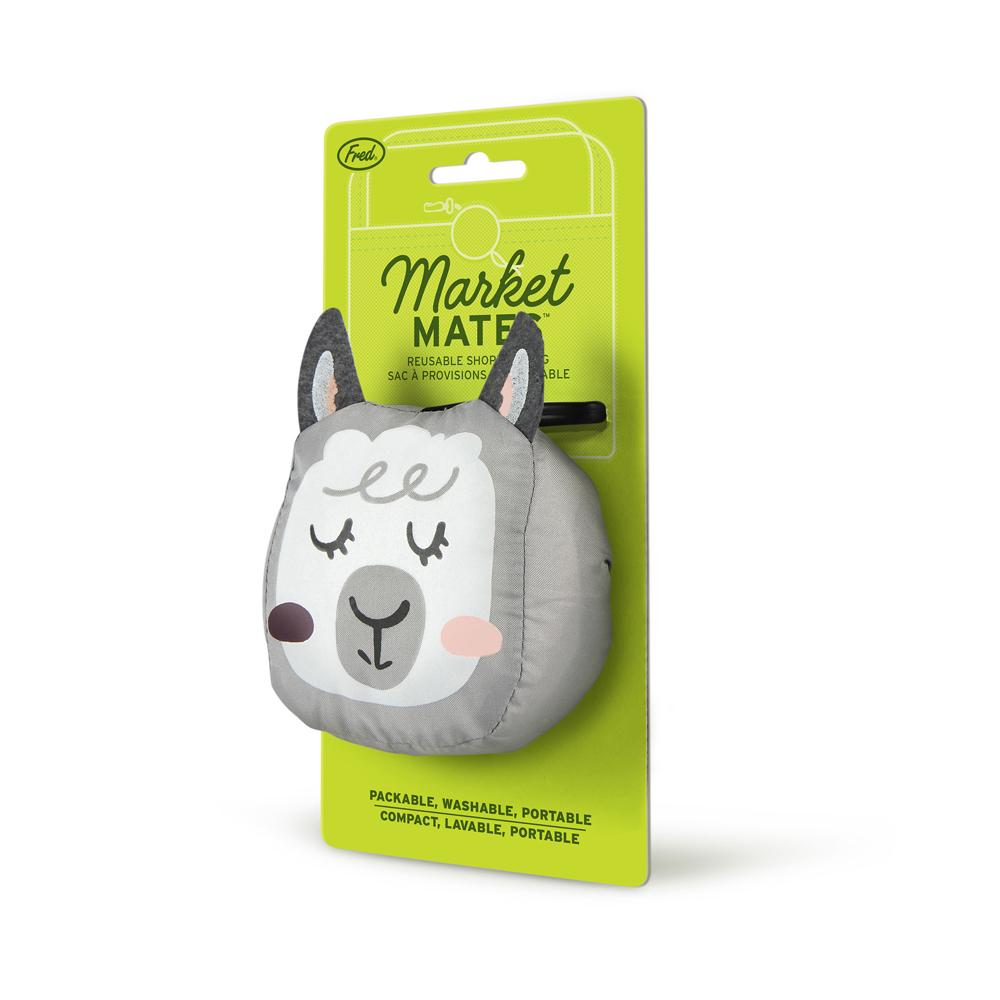 Market Mates Llama Reusable Shopping Bag