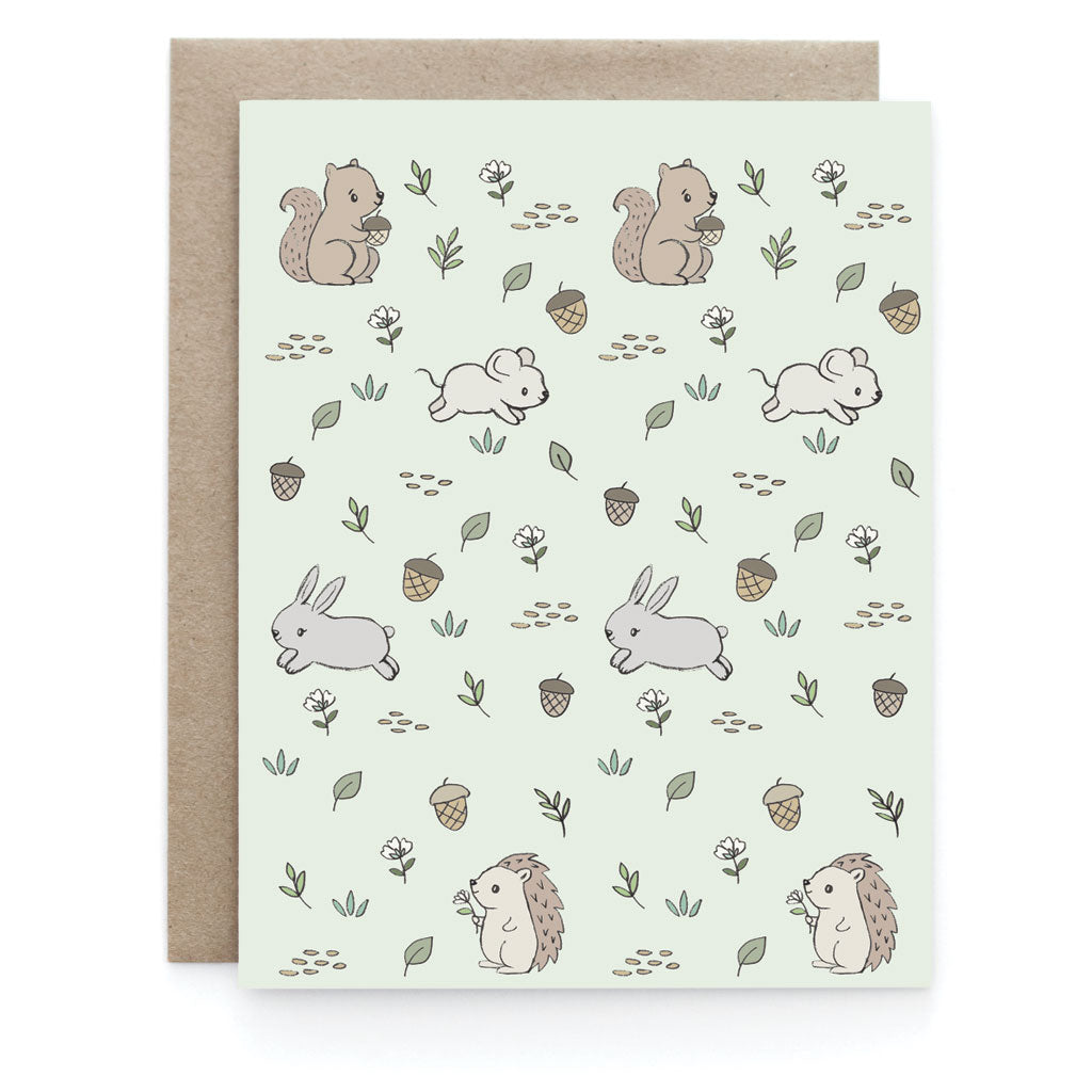 Meadow Creatures Greeting Card