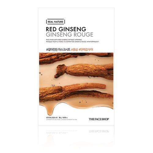 Real Nature Red Ginseng Face Mask