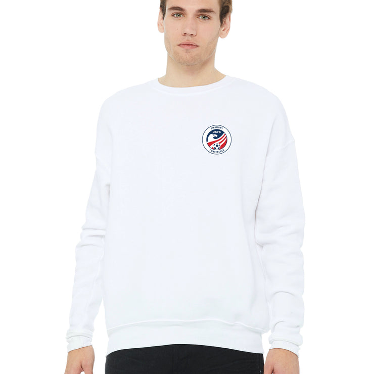 White Cotton Sweatshirt (Piedmont Conference)