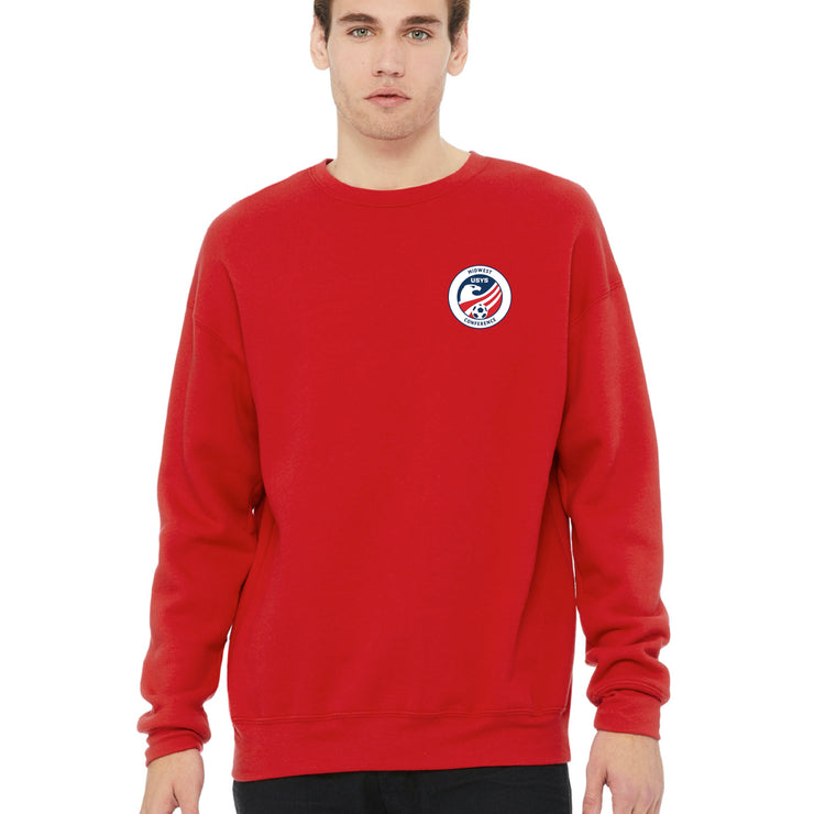 Red Cotton Sweatshirt (Midwest Conference)