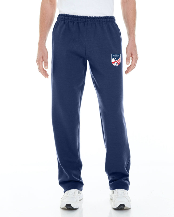 Adult 8 oz. Open-Bottom Sweatpants with Pockets