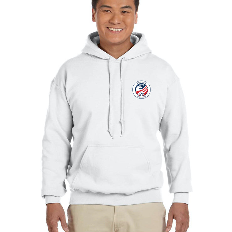 White Cotton Sweatshirt (Great Lakes Conference)