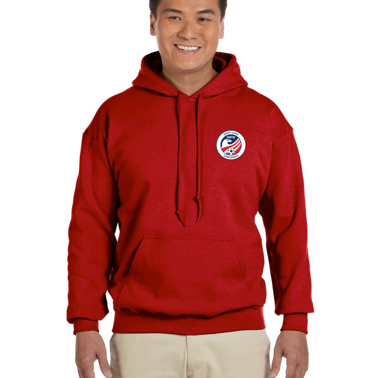 Red Cotton Sweatshirt (Great Lakes Conference)