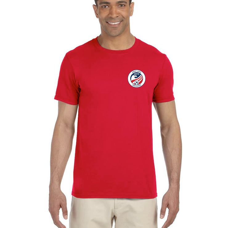 Red Cotton Tee (Great Lakes Conference)