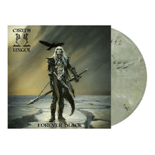 "Load image into Gallery viewer, ""Forever Black"" LP Pewter Grey/ Black Marble Vinyl"
