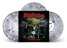 "Load image into Gallery viewer, ""Live Darkness"" 3xLP - Crystal Clear w/ Smoke Vinyl - LIMITED TO 100 COPIES WORLDWIDE!"