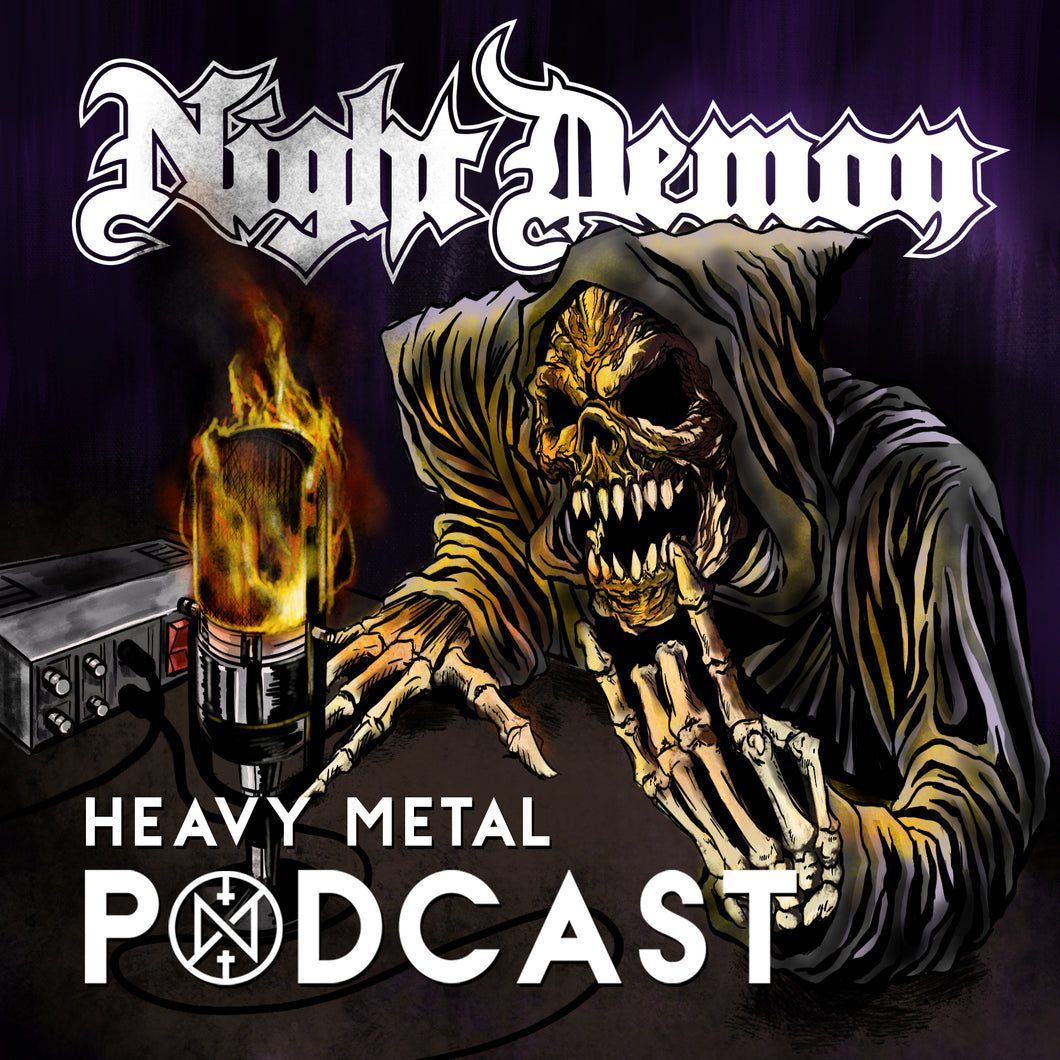 Night Demon Heavy Metal Podcast Subscription