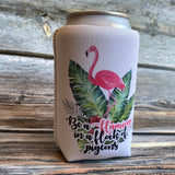 Can Cooler - Be a Flamingo