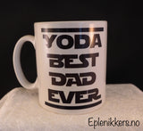 Pappakopp - Yoda best dad ever
