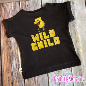 "T-skjorte ""Wild Child"""