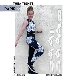 Papirmønster - Thea Tights (XXS-4XL)