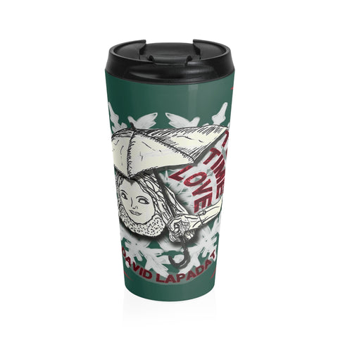 Wintertime Love - Stainless Steel Travel Mug - Eye-shop7