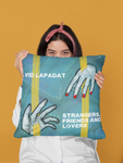 Strangers, Friends and Lovers - Spun Polyester Square Pillow - Eye-shop7