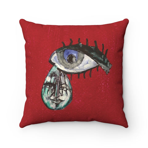Eye - Spun Polyester Square Pillow - Eye-shop7