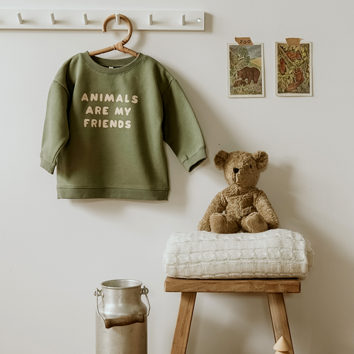 image décorations lifestyle sweat animals are my friends