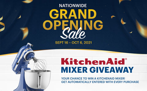 Coast Appliances Nationwide Grand Opening Sale