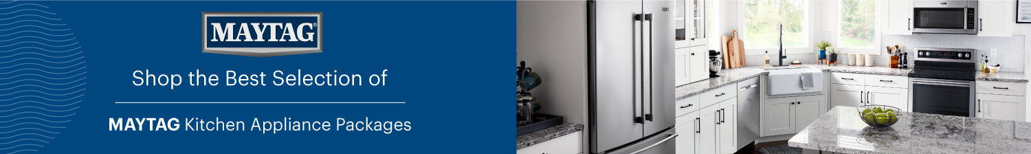 Maytag Kitchen Packages Banner