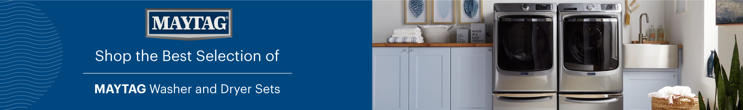 Maytag Laundry Banner