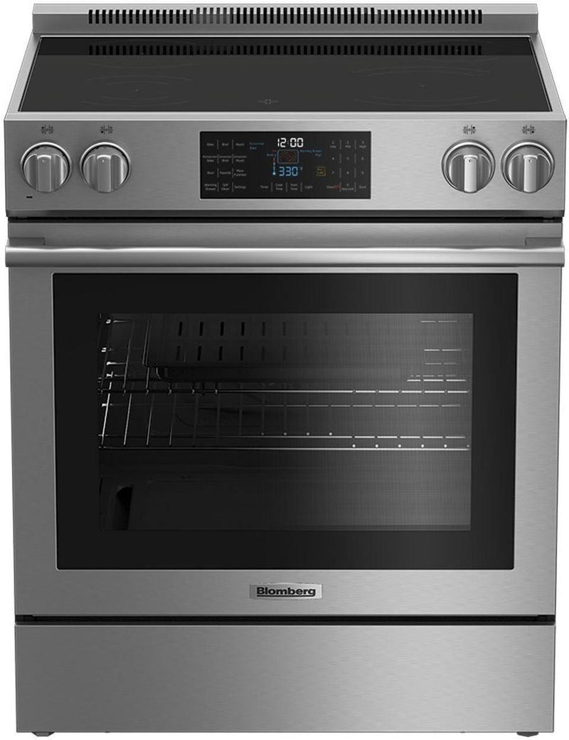 Blomberg - 5.7 cu. ft  Electric Range in Stainless - BERU30420CSS