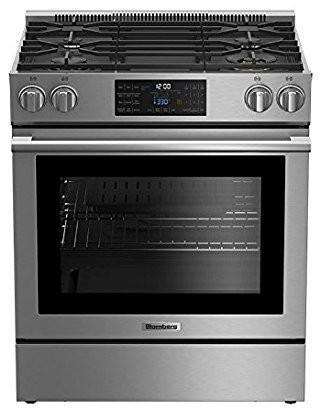 Blomberg - 5.7 cu. ft  Gas Range in Stainless - BGR30420CSS