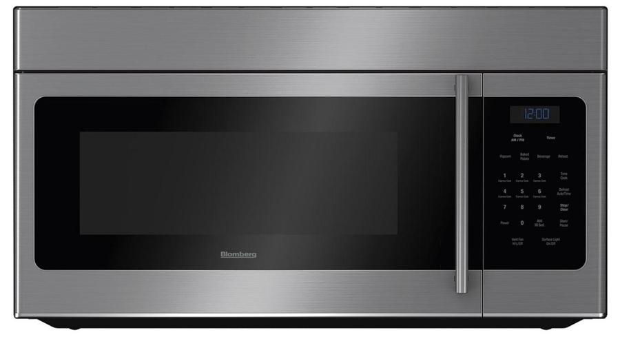 Image of Blomberg - 1.5 cu. Ft Over the range Microwave in Stainless - BOTR30100SS