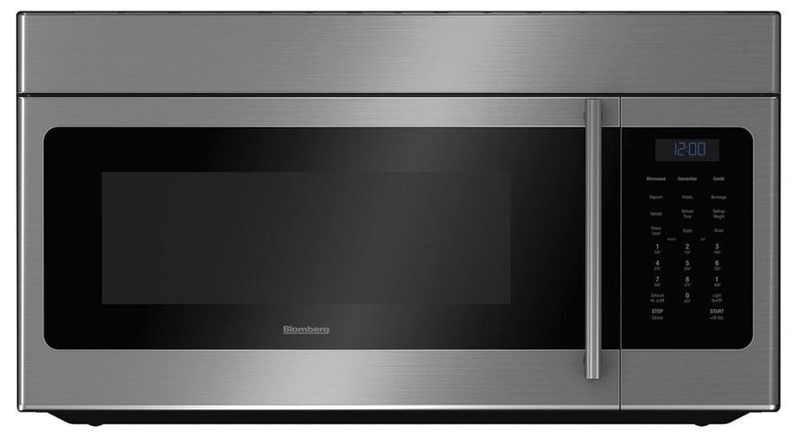 Image of Blomberg - 1.5 cu. Ft Over the range Microwave in Stainless - BOTR30200CSS