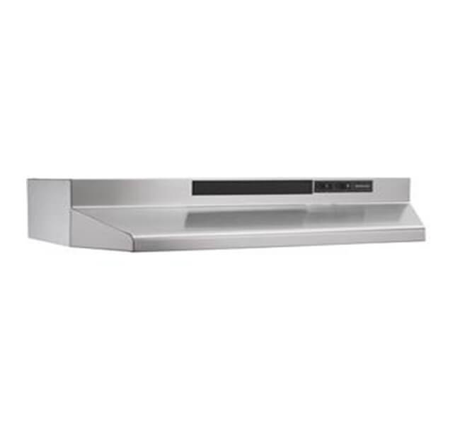 Broan - 24 Inch 160 CFM Under Cabinet Range Vent in Stainless - BU224SS