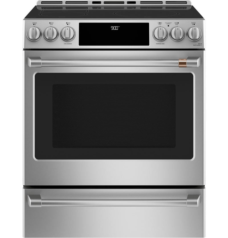 Café - 5.7 cu. ft  Induction Range in Stainless - CCHS900P2MS1