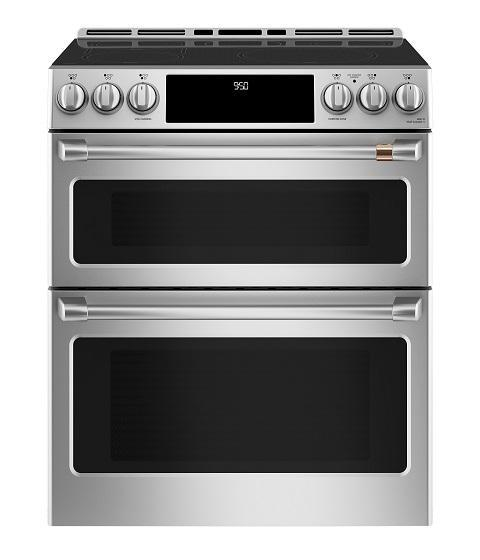 Café - 6.7 cu. ft  Induction Range in Stainless - CCHS950P2MS1