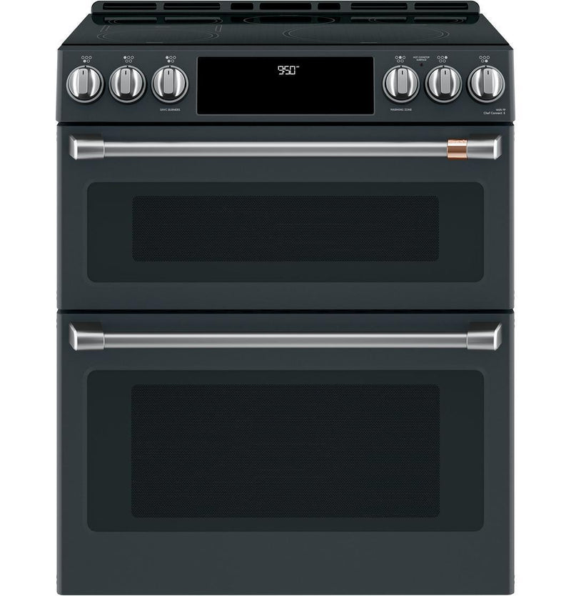 Café - 6.7 cu. ft  Induction Range in Black - CCHS950P3MD1