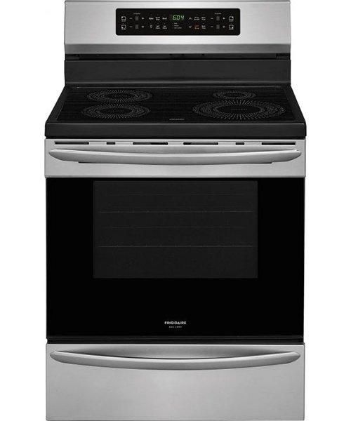 Frigidaire Gallery - 5.7 cu. ft Rear Control Induction Range in Stainless Steel - CGIF3036TF