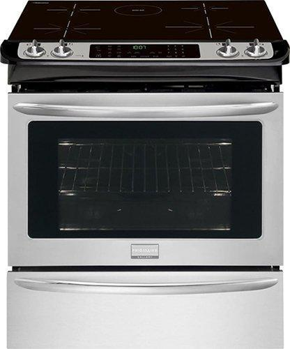 Frigidaire Gallery - 4.7 cu. ft Slide-In Induction Range in Stainless Steel - CGIS3065PF