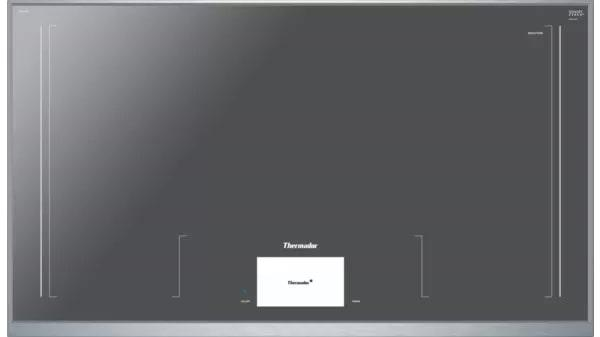 Thermador - 37 inch wide Induction Cooktop in Grey - CIT36XWB