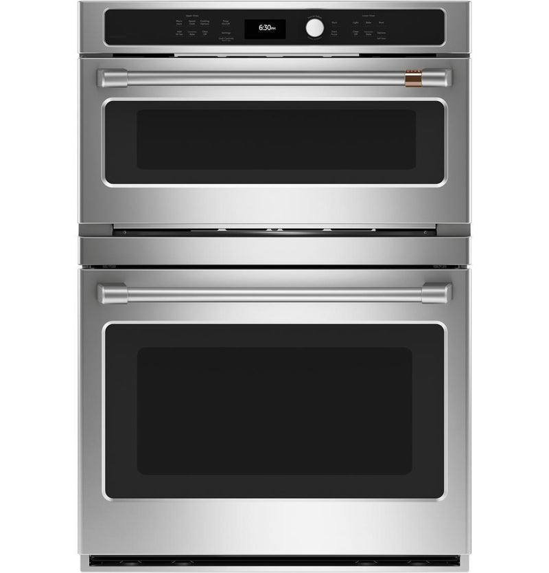 Café - 6.7 cu. ft Combination Wall Oven in Stainless - CTC912P2NS1