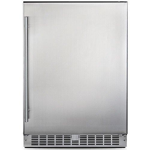 Silhouette - 23.82 Inch 5.5 cu. ft Built In / Integrated Refrigerator in Stainless - DAR055D1BSSPR