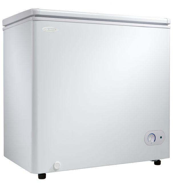 Danby - 5.5 cu. Ft  Chest Freezer in White - DCF055A2WDB