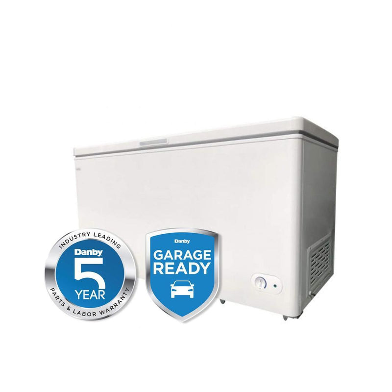 Danby - 14.5 cu. Ft  Chest Freezer in White - DCF145A3WDB