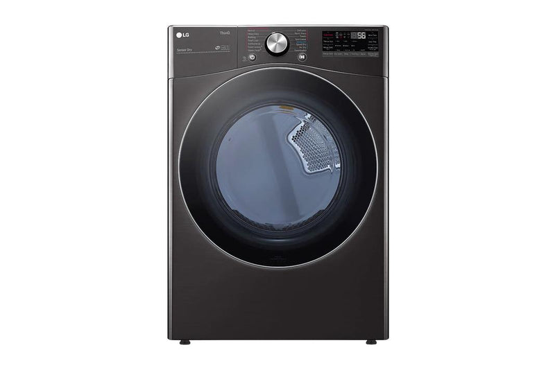 LG - 7.4 cu. Ft  Gas Dryer in Black Stainless - DLGX4201B