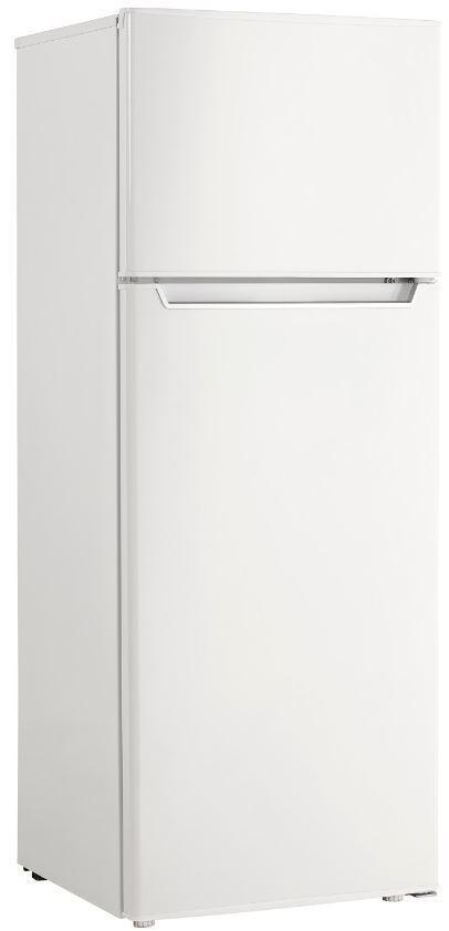 Danby - 21.4375 Inch 7.3 cu. ft Top Mount Refrigerator in White - DPF073C2WDB