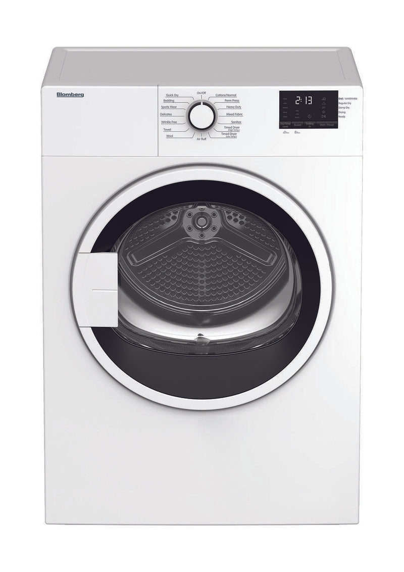 Blomberg - 3.7 cu. Ft  Compact Dryer in White - DV17600W
